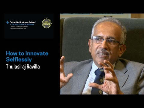 Thulasiraj Ravilla: How to Innovate Selflessly