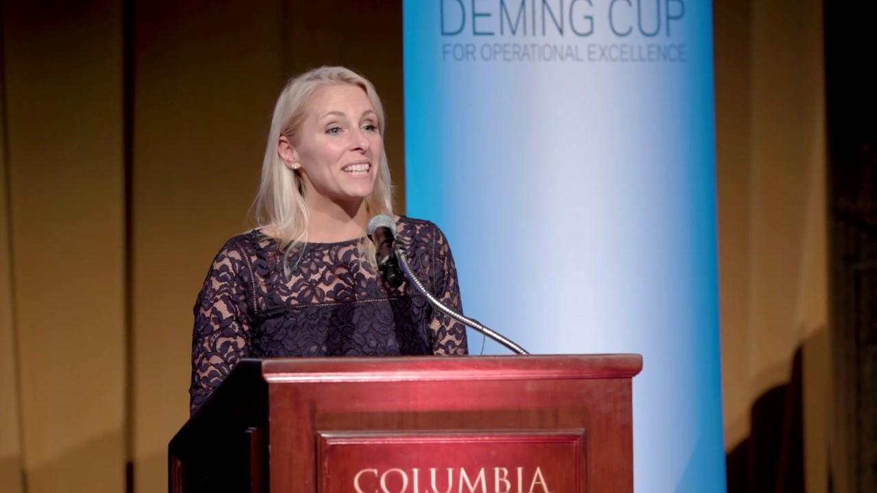 2019 Deming Cup: Kristin Peck's Deming Center Retrospective Remarks