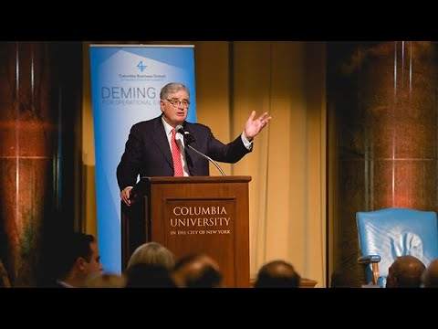 2018 Deming Cup: Samuel Palmisano's Introduction of the late Sergio Marchionne