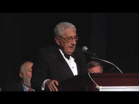 Deming Cup 2012: Henry Kissinger, Former US Secretary of State