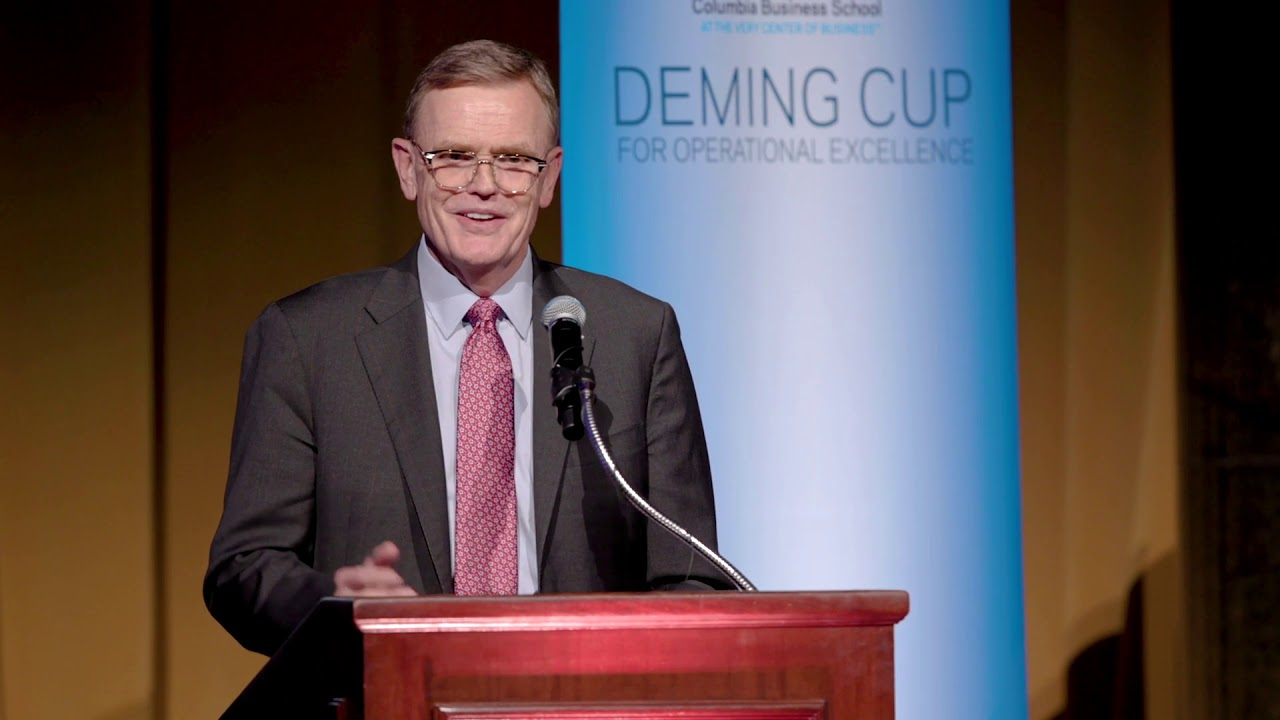 2019 Deming Cup: David Abney's Acceptance Remarks