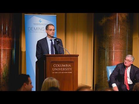 2018 Deming Cup: Scott Garberding's Acceptance of Sergio Marchionne's Lifetime Achievement Award