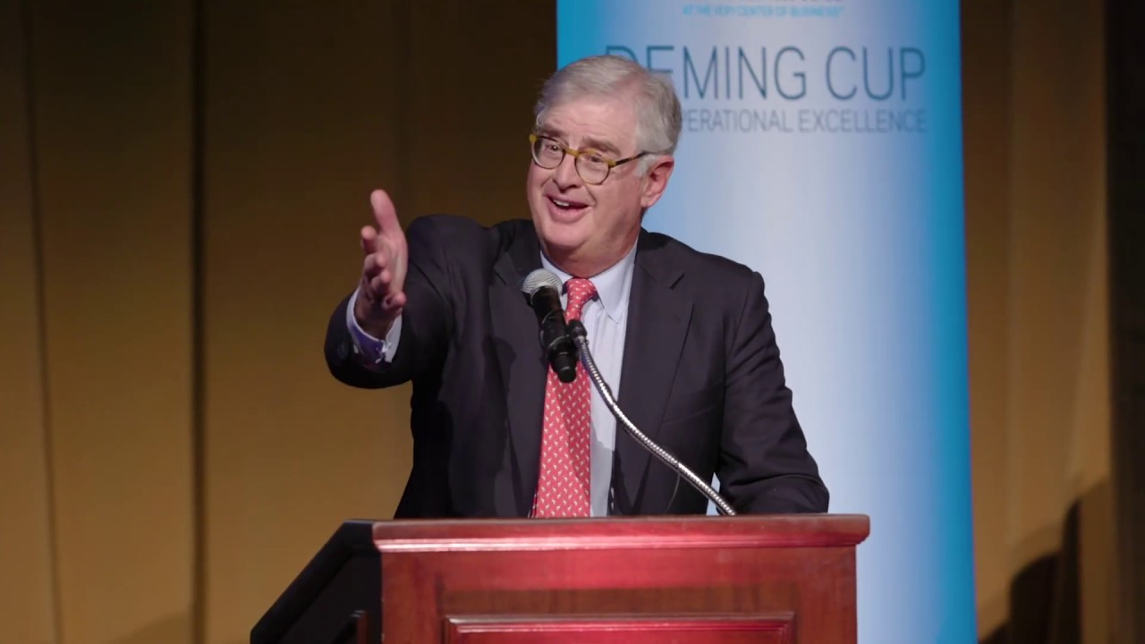 2019 Deming Cup: Sam Palmisano's Closing Remarks