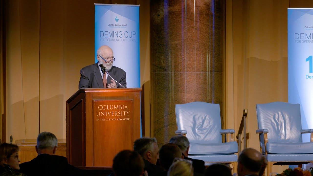 2019 Deming Cup: Nelson Fraiman's Closing Remarks