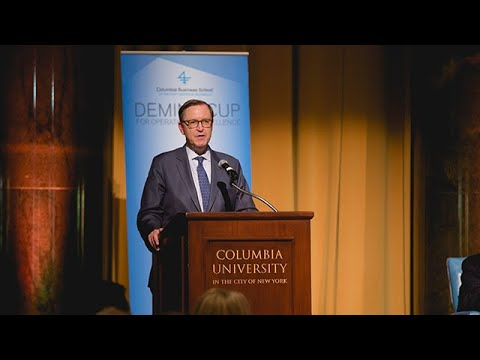 2018 Deming Cup: Columbia Business School Dean Glenn Hubbard's Welcome Remarks