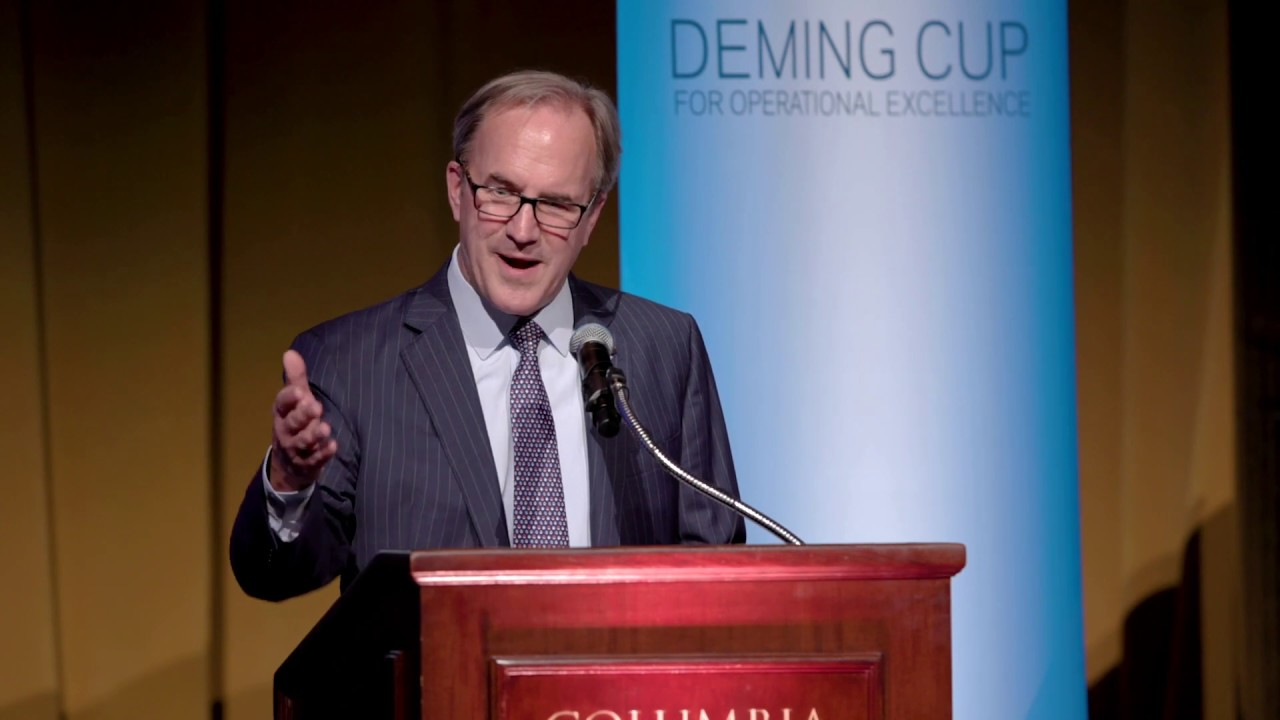2019 Deming Cup: Doug Baker's Introduction of Hubert Joly