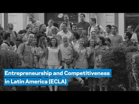 The Entrepreneurship and Competitiveness in Latin America (ECLA) Program