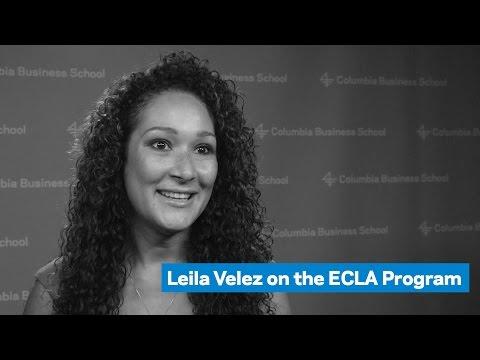 Leila Velez on the ECLA Program