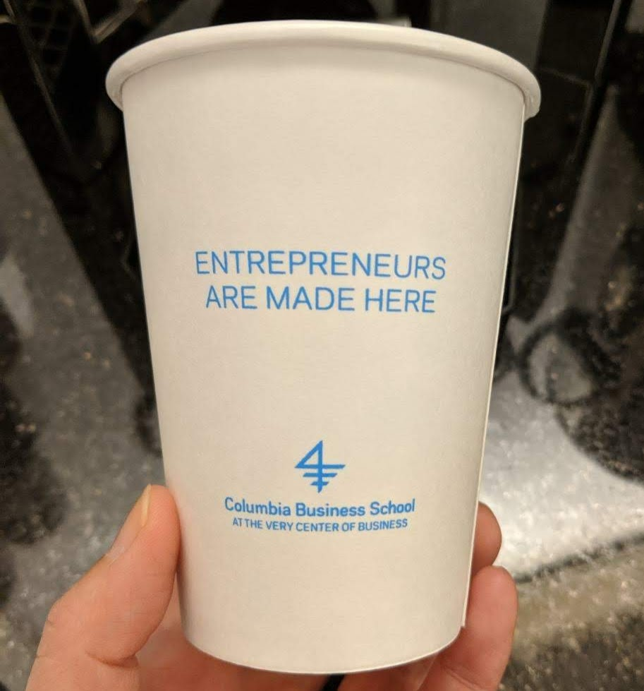 Entrepreneurs are made here Coffee Cup
