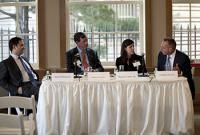 "Photo: 2012 RE Symposium - ""Special Servicing—360 Degrees"" Debt Panel."