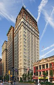 Photo: W Hotel in Union Square, NYC.