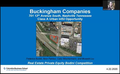 Third Place: Buckingham