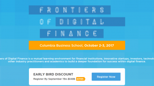 Columbia Business School and Biz2Credit to Host Frontiers of Digital Finance Conference in New York on October 2-3