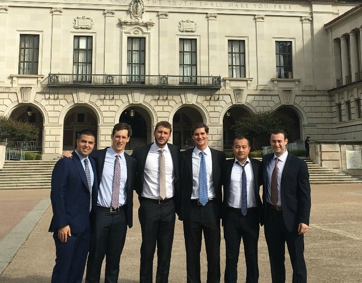 Real Estate Students at the 14th Annual National Real Estate Challenge