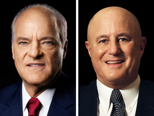 Henry Kravis '69 and Ronald Perelman