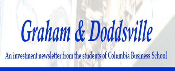 An investment newsletter from the students of Columbia Business School