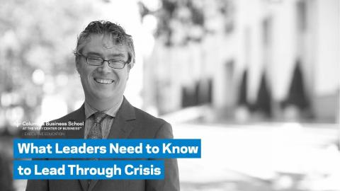 Embedded thumbnail for What Leaders Need to Know to Lead Through Crisis