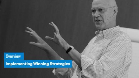 Embedded thumbnail for Implementing Winning Strategies: Overview