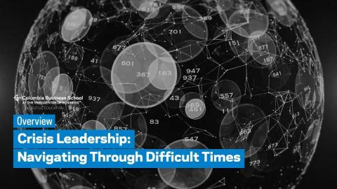 Embedded thumbnail for Crisis Leadership: Overview