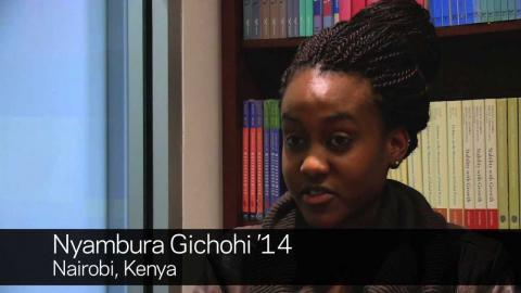Embedded thumbnail for Nyambura Gichohi '14: The International Experience