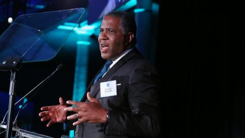 Embedded thumbnail for Distinguished Leadership in Business Award: Robert F. Smith '94