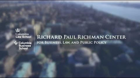 Embedded thumbnail for Richard Paul Richman Center for Business, Law, and Public Policy