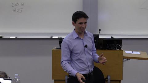 Embedded thumbnail for Intro to Python for Business Seminar, featuring Mattan Griffel