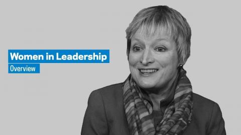 Embedded thumbnail for Women in Leadership: Overview
