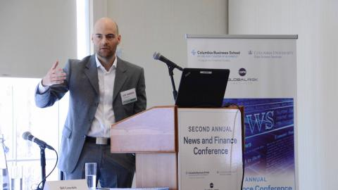 "Embedded thumbnail for News and Finance Conference – Leif Anders Thorsrud, Norges Bank, ""The Value of News"""