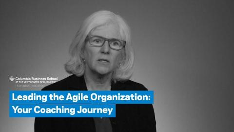Embedded thumbnail for Leading the Agile Organization: Your Coaching Journey