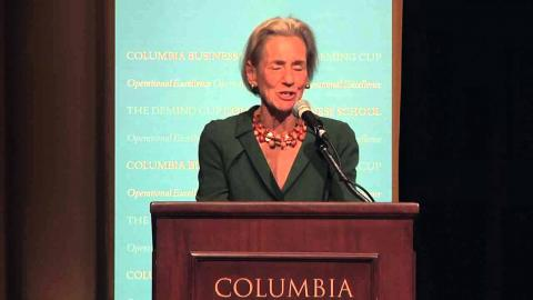 Embedded thumbnail for Shelly Lazarus: Remarks to Introduce Ellen Kullman