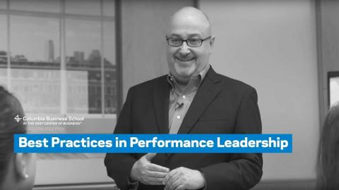 Embedded thumbnail for Best Practices in Performance Leadership