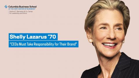 """Embedded thumbnail for Shelly Lazarus '70: """"CEOs Must Take Responsibility for Their Brand"""""""