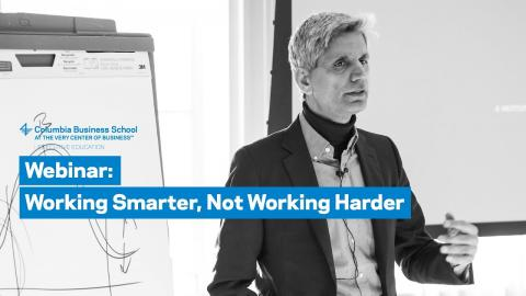Embedded thumbnail for Working Smarter, Not Working Harder
