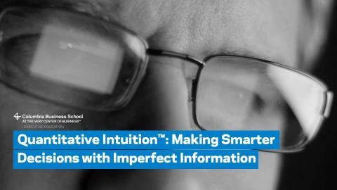 Embedded thumbnail for Quantitative Intuition™: Overview