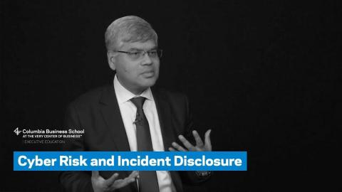Embedded thumbnail for Cyber Risk and Incident Disclosure