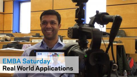 Embedded thumbnail for EMBA Saturday: Real World Applications