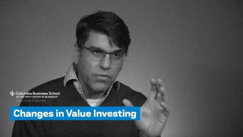 Embedded thumbnail for Changes in Value Investing
