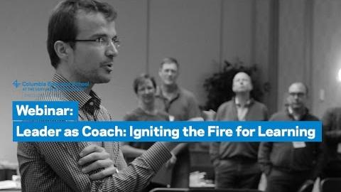 Embedded thumbnail for Webinar: Leader as Coach