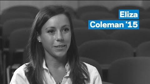 Embedded thumbnail for MBA Student Profile: Eliza Coleman '15
