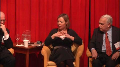 Embedded thumbnail for Panel Discussion: Business and Politics: Which Drives Which?