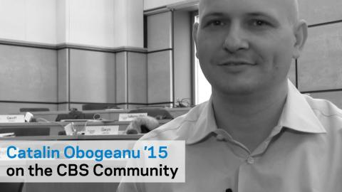 Embedded thumbnail for Catalin Obogeanu '15: Community is an Important Part of the CBS Experience