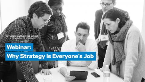 Embedded thumbnail for Why Strategy is Everyone's Job