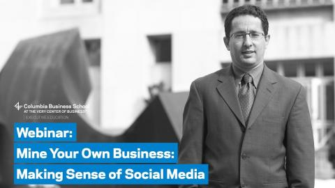 Embedded thumbnail for Mine Your Own Business  Making Sense of Social Media