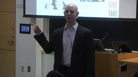 Embedded thumbnail for Adam Grant Discusses Give and Take