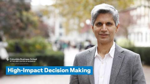 Embedded thumbnail for High-Impact Decision Making