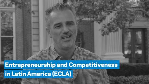 Embedded thumbnail for Fabrizio Ferri on the the Entrepreneurship and Competitiveness in Latin America (ECLA) Program