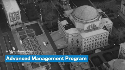 Embedded thumbnail for The Advanced Management Program: Overview