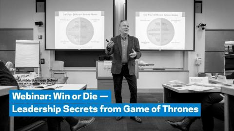 Embedded thumbnail for Webinar: Win or Die — Leadership Secrets from Game of Thrones