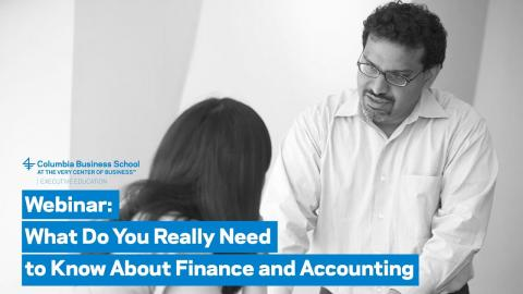 Embedded thumbnail for What Do You Really Need to Know About Finance and Accounting